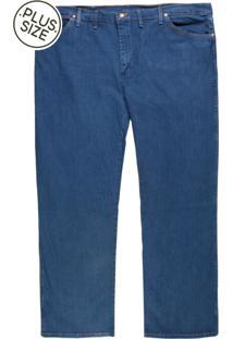 Calça Jeans Wrangler Reta Basic Azul