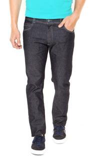 Calça Jeans Mr Kitsch Slim 9135 Pespontos Azul