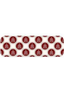 Passadeira Love Decor Pinheiro De Natal Vermelho