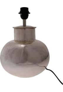 Abajur- Pashmina- Eletrico Bronze- Cinza - Kanui