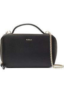 Furla Box Shoulder Bag - Preto