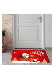 Tapete De Natal Para Porta Feliz Natal Único