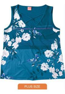 Blusa Azulsublimática