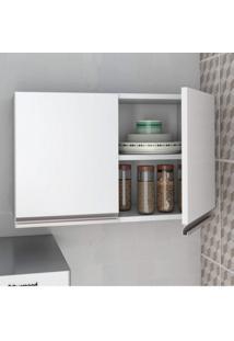 Armário De Cozinha Aéreo 2 Portas Brv Móveis Branco
