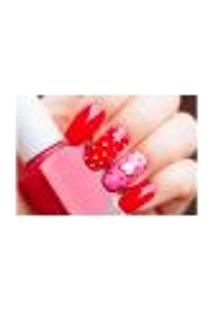 Painel Adesivo De Parede - Esmaltes - Manicure - 755Pnp