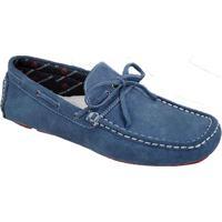 c8ce59ef41 Sapato Masculino Driver Sandro Moscoloni Medford Azul Jeans
