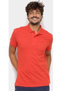 Camisa Polo Colcci Básica Masculina - Masculino-Vermelho