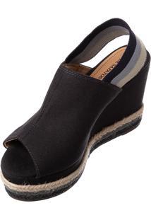 b5192f2438 ... Espadrille Butique De Sapatos Marinho Detalhe Elástico