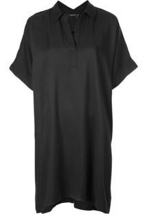 Natori Vestido De Sarja - Preto