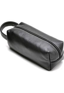 Necessarie Hendy Bag Couro Preto