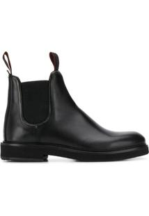 Ps Paul Smith Ankle Boot Slip-On - Preto