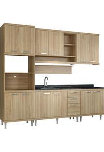 Cozinha Compacta Lareska Iii 12 Pt 3 Gv Argila