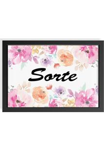 Quadro Love Decor Decorativo Sorte