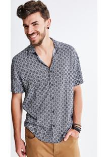 Camisa Vintage Estampada