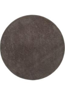 Tapete Classic- Cinza- Ø150Cm- Oasisoasis