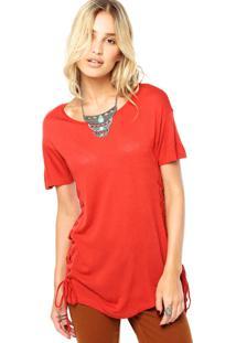 Blusa Letage Trançado Vermelho