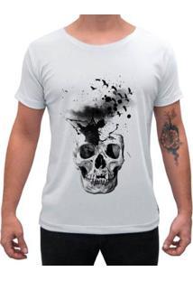 Camiseta Impermanence Estampada Caveira Masculina - Masculino
