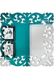 Espelho Love Decor Decorativo Veneziano Único - Kanui