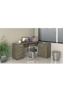 Mesa Office Canto Notavel Canela