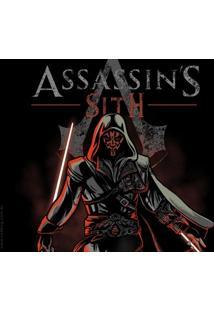 Camiseta Assassin'S Sith - Feminina