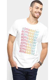 Camiseta Redley Alma Solar Masculina - Masculino-Off White