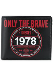 Diesel Carteira Only The Brave - Preto