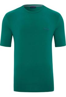 Camiseta Lisa Verde