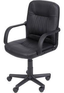 Cadeira Office Presidente- Preta- 95,5X57,5X43Cmor Design