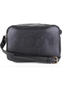 Bolsa Colcci Mini Bag Established 1986 Feminina - Feminino-Preto