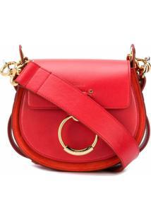 Chloé Bolsa Tess Pequena - Vermelho