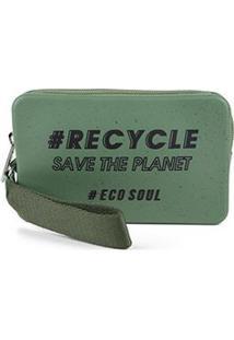 Bolsa Case Colcci California Ecosoul Feminina - Feminino-Verde