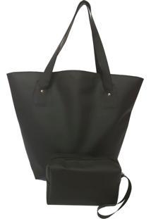 Bolsa Bag Dreams De Praia Impermeável Preta