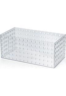Caixa Organizadora Transparente 4,3 Litros