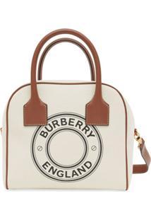 Burberry Bolsa Pequena Com Estampa De Logo - Neutro