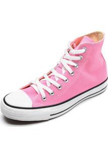 Tênis Converse Chuck Taylor All Star Seasonal Colors Hi Rosa