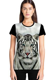 Camiseta Feminina Ramavi Tigre Manga Curta - Kanui