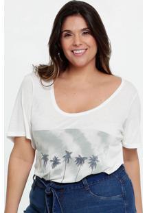 Blusa Feminina Estampa Frontal Plus Size Marisa