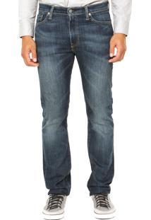 Calça Jeans Levis 513 Reta Azul