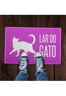 Capacho Lar Do Gato Rosa 0,40X0,60M Beek