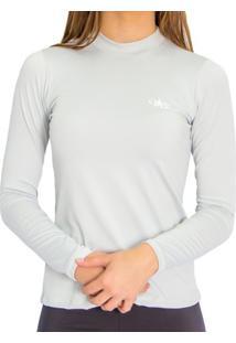 Camiseta Térmica Manga Longa Mprotect Cinza