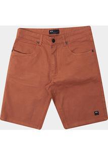 Bermuda Oakley De Passeio Mod 5 Pockets 2 Masculina - Masculino