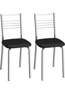 Cadeira Veneza C109 2 Unidades - Compoarte Elare