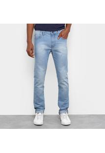 Calça Jeans Skinny Colcci Estonada Masculina - Masculino