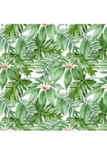 Papel De Parede Adesivo Stickdecor Floral Folhagem Verde