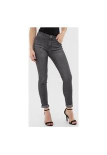 Calça Jeans Planet Girls Skinny Estonada Preta