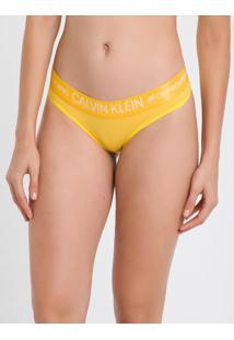 Calcinha Tanga Reveillon Cotton - Amarelo - S