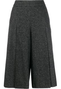 Ba&Sh Calça Pantalona Juliette Cintura Alta - Cinza