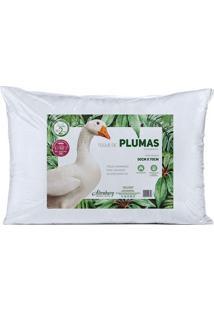 Travesseiro Toque De Pluma- Branco- 10X70X50Cmaltenburg
