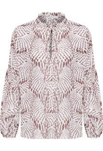 Blusa Feminina Rose - Off White