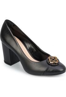 Sapato Tradicional Com Tag- Pretocapodarte